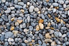 Pebbles on a beach of the Coast of Alabaster Royalty Free Stock Photo