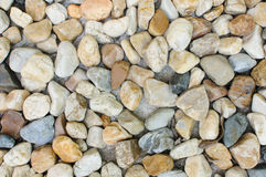 Pebbles on the beach. Pebbles found in the sea. Can be used for decorating Royalty Free Stock Image