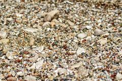 Pebbles Beach stock photos