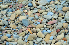 Pebbles at the beach Stock Photo