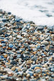 Pebbles on the beach Royalty Free Stock Photography
