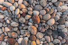 Pebbles on the bech Royalty Free Stock Image