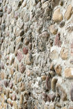 Pebbles built the wall Royalty Free Stock Photos