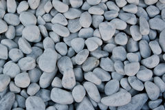 Pebbles can be used as a background, stones Stock Photography