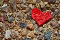 Pebbles - Heart Royalty Free Stock Image