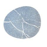 Pebbles, isolated on white background Royalty Free Stock Photo
