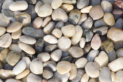 Pebbles. Lots of colorful pebbles for background royalty free stock photography