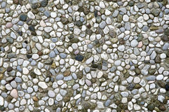 Pebbles mosaic Royalty Free Stock Image