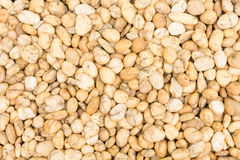 Pebbles. Over view brown pebbles background Stock Photography