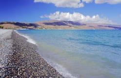 Pebbles på stranden Royaltyfri Bild