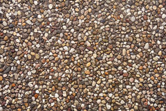 Pebbles pattern texture Royalty Free Stock Photography