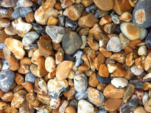 Pebbles. Rounded smooth pebbles in UK Royalty Free Stock Photography