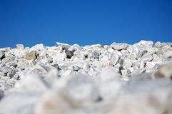 Pebbles sea beach detail Royalty Free Stock Image