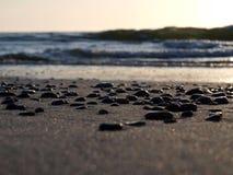 Pebbles on the sea shore Stock Image