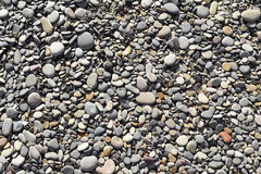 Pebbles of a shingle beach or a river Royalty Free Stock Image