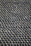 Pebbles in soil Royalty Free Stock Photos