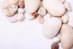 Free Pebbles Stone Frame Border Royalty Free Stock Photos - 55627428