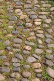 Pebbles stone road Royalty Free Stock Photo