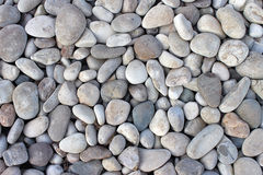 Pebbles stones background texture. Royalty Free Stock Photos