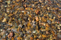 Pebbles in Stream Royalty Free Stock Photo