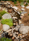 Pebbles in the Stream Stock Images