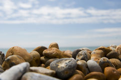Pebbles in the sunshine Royalty Free Stock Photos