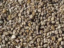 Pebbles texture Royalty Free Stock Images