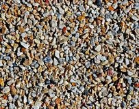 Pebbles texture. Abstrack background: close-up pebbles texture royalty free stock photography