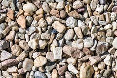 Pebbles texture Royalty Free Stock Image