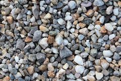 Pebbles texture background Stock Images