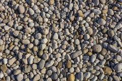 Pebbles texture. A full frame pebbles texture Royalty Free Stock Photo