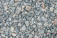 Pebbles to decorate. Pebbles placed to decorate the road surface as this is beautiful Stock Images