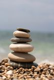 Pebbles tower Stock Images