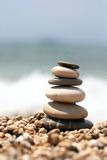 Pebbles tower royalty free stock photography