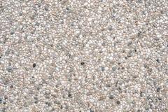Pebbles wall Stock Image