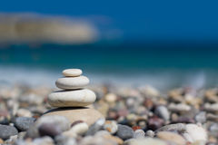 Pebbles - zen stones Stock Photography