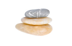 pebblesbunt Arkivbilder