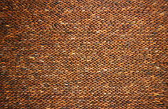 pebblestenvägg Arkivbild