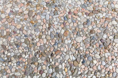 pebblestone地板正方形的背景 库存照片