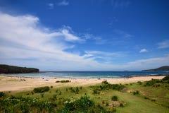 Pebbly пляж, NSW Стоковые Фотографии RF