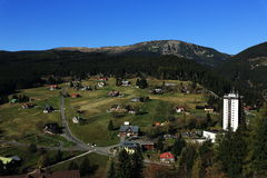PEC-Hülse Snezkou, die riesigen Berge Lizenzfreies Stockbild