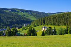 Pec pod Snezkou in Giant  Mountains. In Bohemia Royalty Free Stock Photography