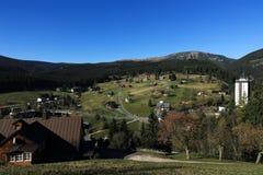 Pec pod Snezkou, the giant mountains  Stock Photo