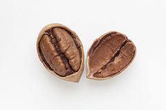 Pecan. Isolation on a white background Stock Photo