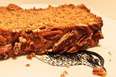 Pecan bread Royalty Free Stock Images
