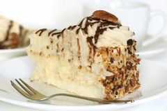 Pecan Cake Stock Image
