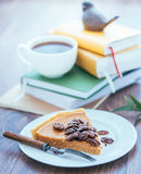 Pecan Cake Stock Photo