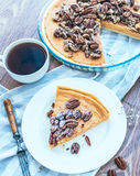 Pecan Cake Royalty Free Stock Photo