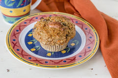 Pecan Carrot Muffin Royalty Free Stock Photography