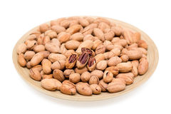 Pecan (Clipping path)  Royalty Free Stock Photo